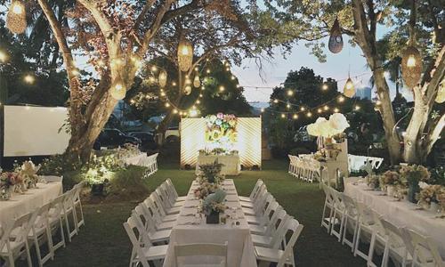 wedding reception in Cebu