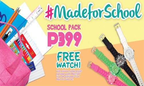 school supplies promos Philippines