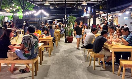where millenials eat drink have fun in Manila